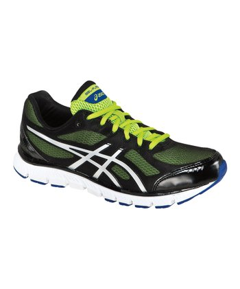 Black & Lime GEL-Flash Running Shoe - Men