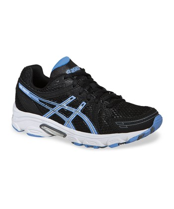 Black & Periwinkle Gel-Excite Running Shoe