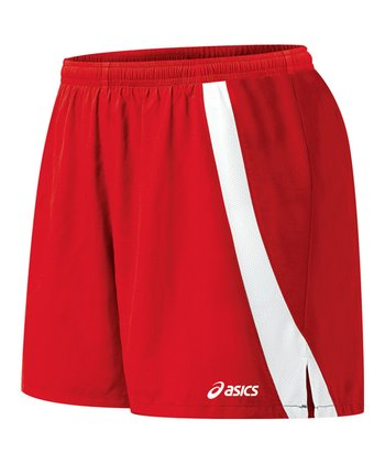 Red & White Intensity Shorts - Women