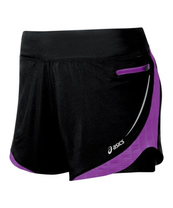 Purple Pop & Black Ard Versatility Shorts - Women