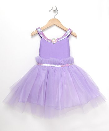 Lilac Princess Dress - Toddler & Girls