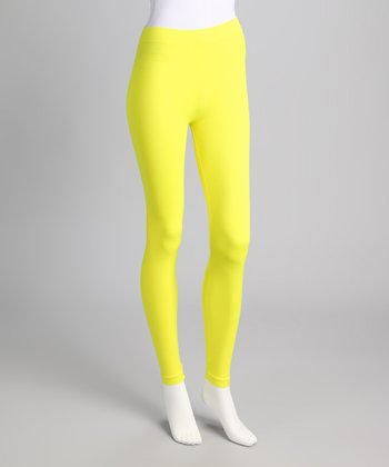 Sunny Lime Footless Tights Set