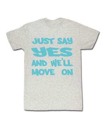 Ash 'Just Say Yes' Tee - Toddler & Kids