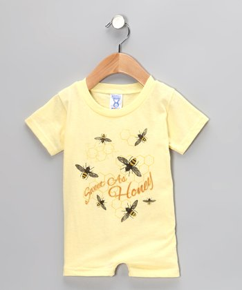 Banana 'Sweet as Honey' Romper - Infant