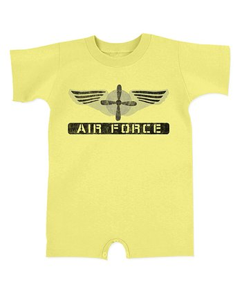 Banana 'Air Force' Romper - Infant