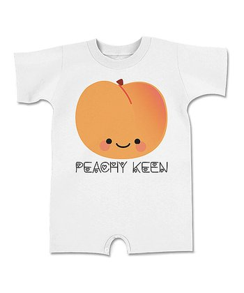 Ash 'Peachy Keen' Romper - Infant