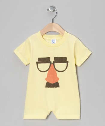 Banana Mr. Potato Head Face Romper - Infant