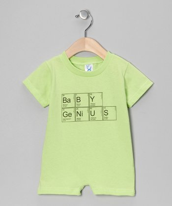 Key Lime 'Baby Genius' Romper - Infant