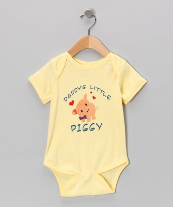 Banana 'Daddy's Little Piggy' Bodysuit - Infant