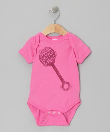 Raspberry Shake Rattle & Roll Bodysuit - Infant
