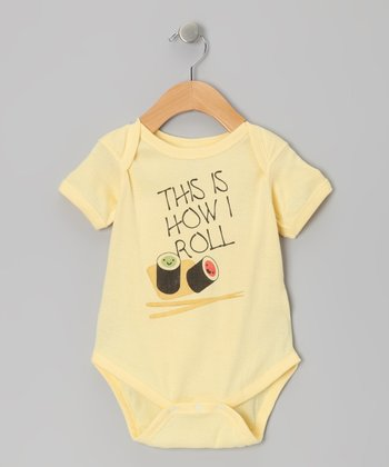 Banana How I Roll Sushi Bodysuit - Infant