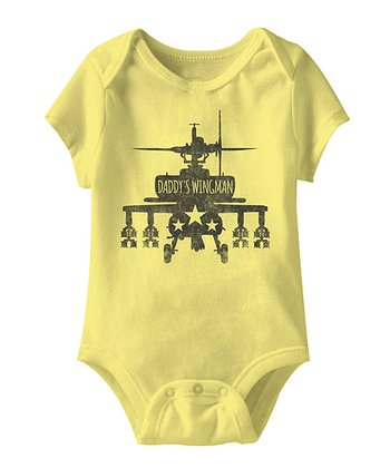 Banana 'Daddy's Wingman' Bodysuit - Infant