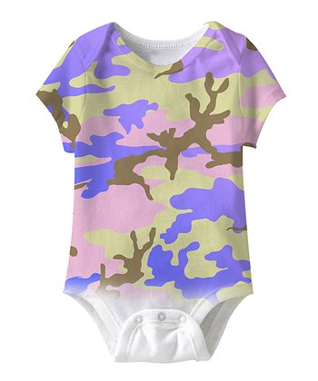 Pastel Camo Bodysuit - Infant
