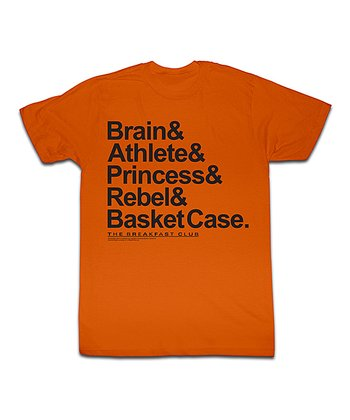 Orange Breakfast Club Persona Tee - Toddler & Kids