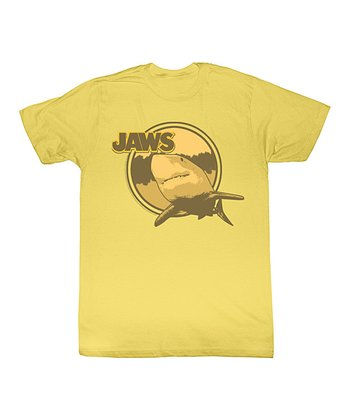Yellow 'Jaws' Lurking Tee - Toddler & Kids