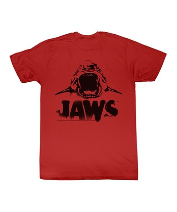 Red 'Jaws' Scary Tee - Toddler & Kids