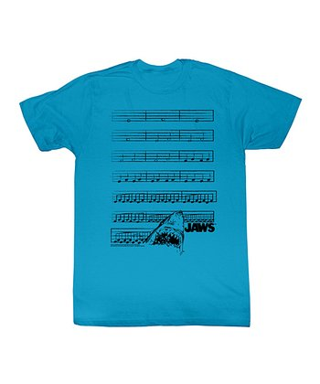 Turquoise 'Jaws' The Musical Tee - Toddler & Kids