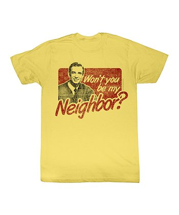 Banana 'Won't You Be My Neighbor?' Tee - Toddler & Kids