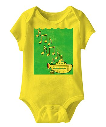 Yellow Submarine Bodysuit - Infant