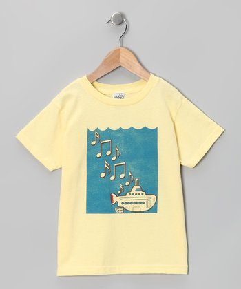 Banana Yellow Submarine Tee - Toddler & Kids