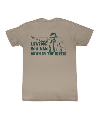 Khaki 'Living in a Van' Tee - Toddler & Kids