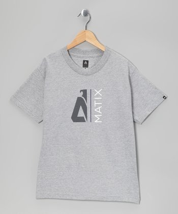 Heather Grey Monocut Tee