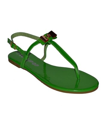 Green Surprise Sandal