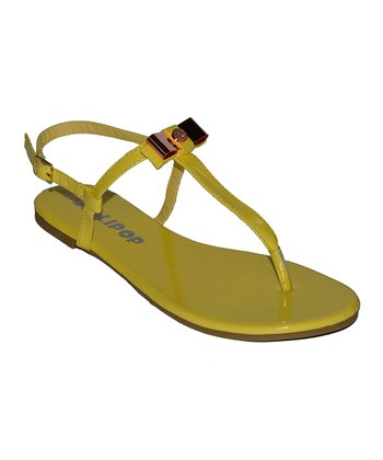 Yellow Surprise Sandal