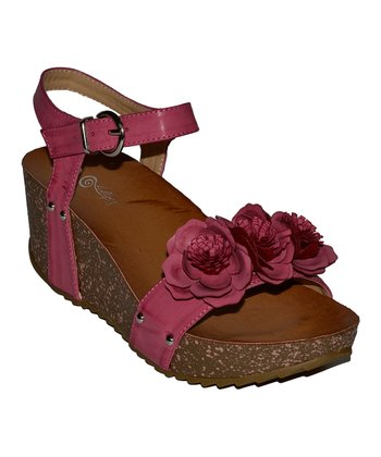 Fuchsia Wiggling Wedge