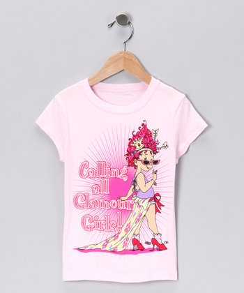 Pink Fancy Nancy Tee - Toddler
