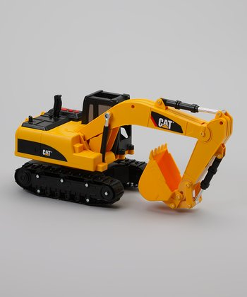Job Site Motorized Excavator