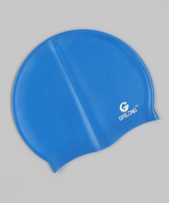 Blue Swim Cap