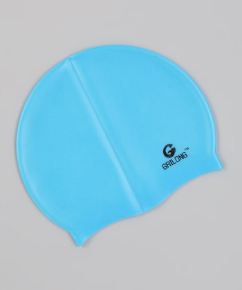 Light Blue Swim Cap