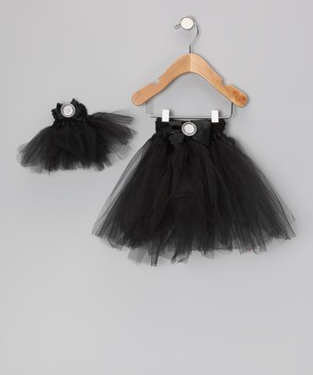 Black Tutu & Doll Tutu - Infant, Toddler & Girls