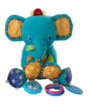 Blue Elephant Bunch o' Fun Plush Toy
