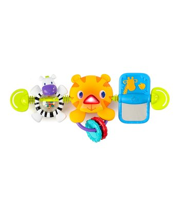 Jungle Animal Take-Along Carrier Toy Bar