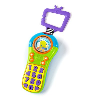 Lime & Purple Click & Giggle Sound Remote