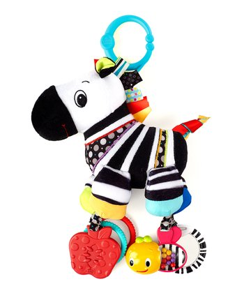 Zebra Sensory Plush Toy