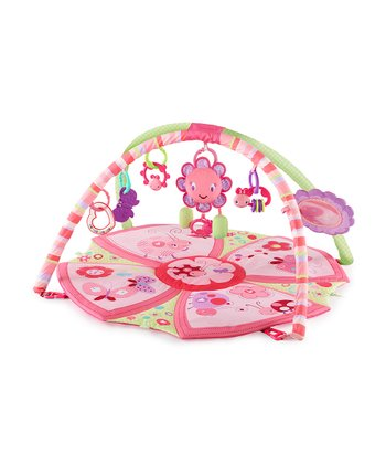 Pretty in Pink Giggle Garden Activity Gym