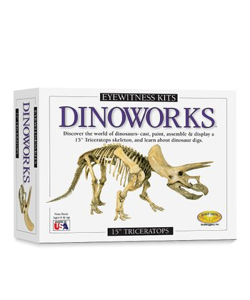 Dinoworks Triceratops Model Kit