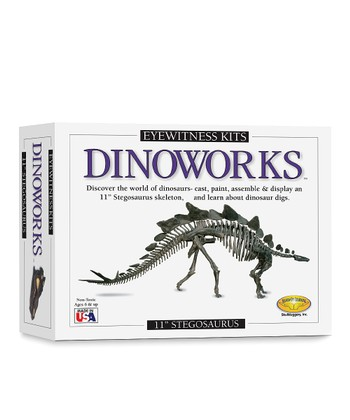 Dinoworks Stegosaurus Model Kit