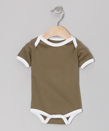 Slate & White Organic Bodysuit - Infant