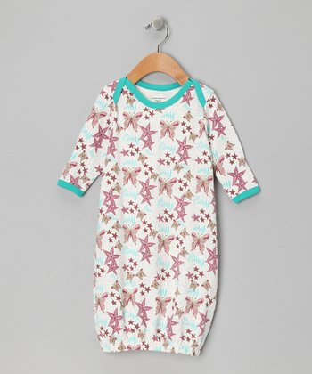 Butterfly Organic Gown - Infant