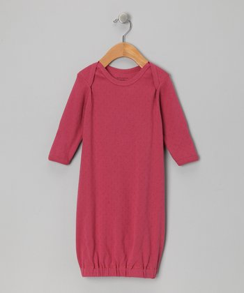 Mauve Organic Gown - Infant