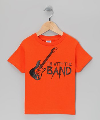 Orange 'I'm With the Band' Tee - Infant, Toddler & Boys