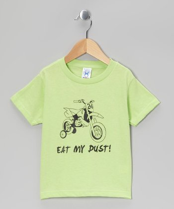 Key Lime 'Eat My Dust' Tee - Toddler & Boys