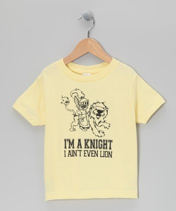 Lemon 'I Ain't Even Lion' Tee - Infant, Toddler & Boys