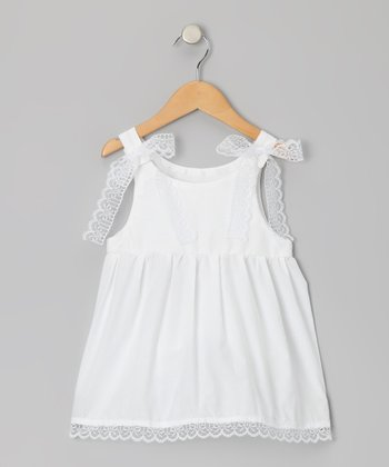 Palencia White Anna Mae Dress - Infant & Toddler