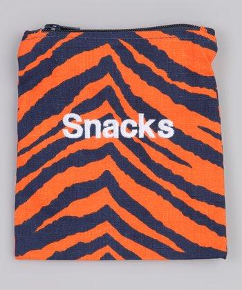 Caught Ya Lookin' Tiger Stripe 'Snacks' Bag