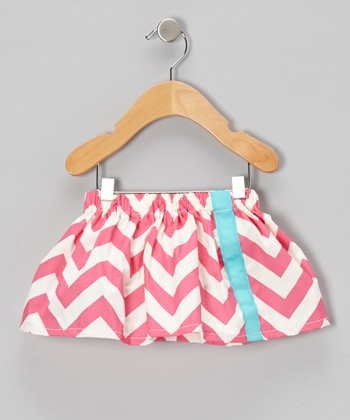 Pink Zigzag Skirt - Infant & Toddler